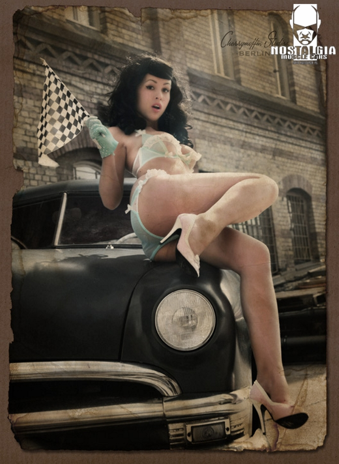 Classic hot rods gallery girls