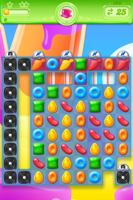 Candy Crush Jelly Saga 196