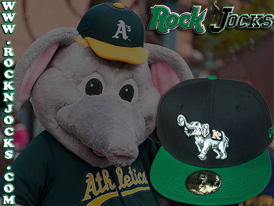 453fa729b61db New Fitteds   ROCK-N-JOCKS  Custom NEW ERA x MLB「A s」59Fifty Fitted Cap