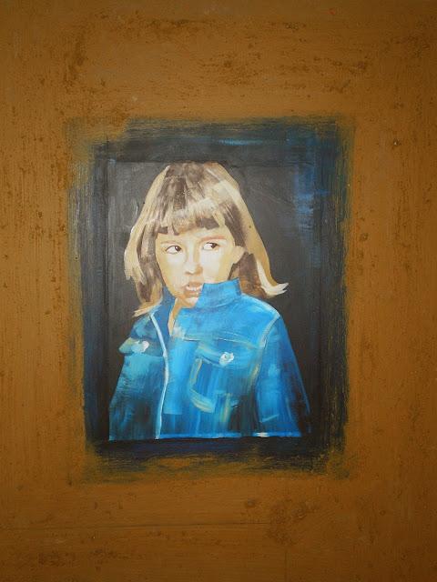 Oleo y acrílico sobre lienzo 100x70