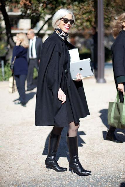 Vestir a los 50 inspiración street style
