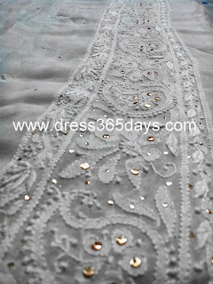 Golden Kamdani Work - Dupatta