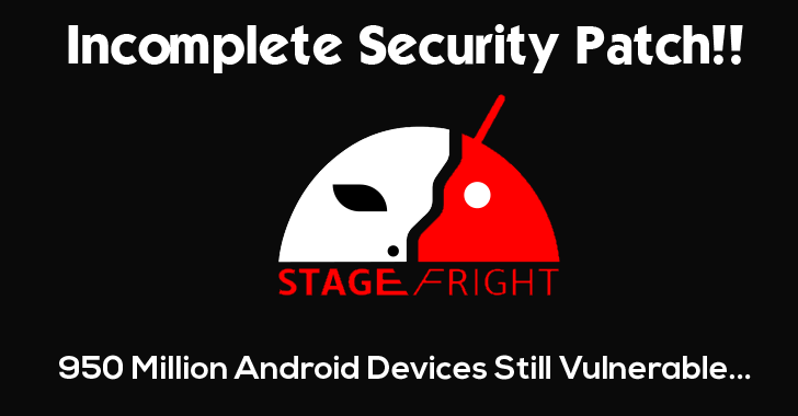 Incomplete 'Stagefright' Security Patch Leaves Android Vulnerable to Text Hack