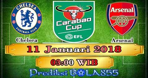 Prediksi Bola855 Chelsea vs Arsenal 11 Januari 2018