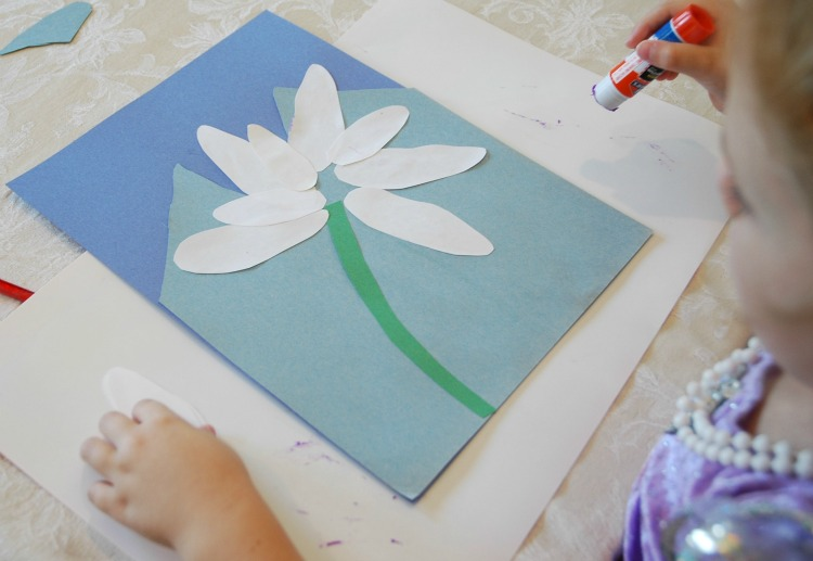 Edelweiss Flower Craft What Can We Do With Paper And Glue