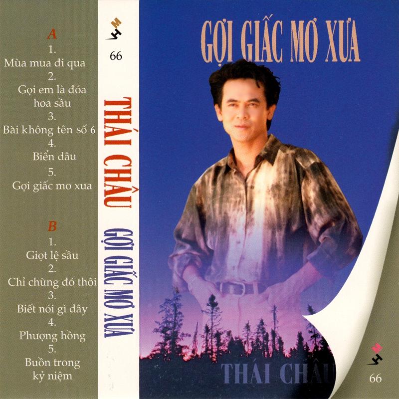 Tape Mưa Hồng 66 - Thái Châu - Gợi Giấc Mơ Xưa (WAV)