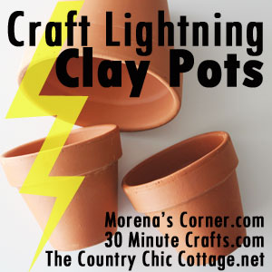 Craft Lightning Clay Pots Link Image