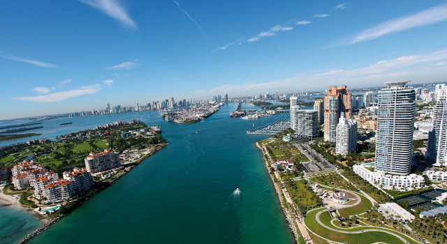 Cálculo total da viagem por pessoa para sete dias em Miami