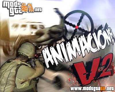 Animações GTA V GTA SA Oficial V2