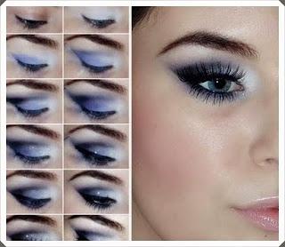 Çeşitli Göz Makyajı Yapım Örnekleri