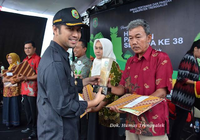 Peringati HPS 2018, Bijak Manfaatkan Setetes Air dan Sejengkal Tanah untuk Wujudkan Trenggalek Mandiri Pangan