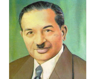 Shanti Swarup Bhatnagar was born on Feb. 21, 1894 at Shahpur now in Pakistan. During his stay abroad, he did excellent research on emulsions and received his D.Sc. from London University in 1921. His other field of work were colloids, industrial chemistry and magneto chemistry. He designed and fabricated a balance in collaboration with R.N. Mathur called Bhatnagar-Mathur interference balance, which is of immense use for studies in chemicals and chemical reactions. He was the first director of Council of Scientific and Industrial Research. He produced in his laboratory such articles as anti-gas cloth, unburstable containers and plastics from waste.