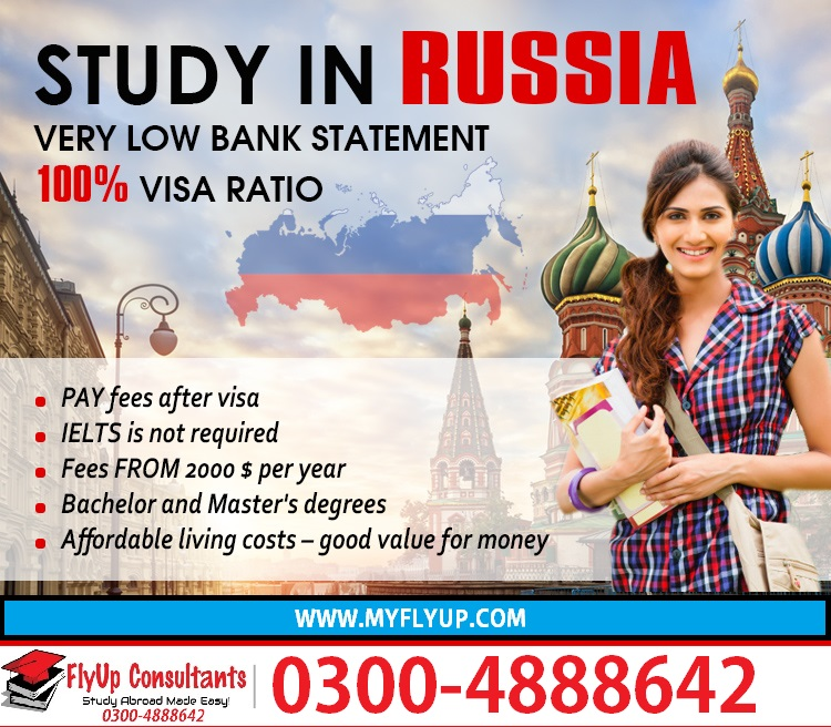 Study in Russia from Pakistan | RUSSIA STUDENT VISA