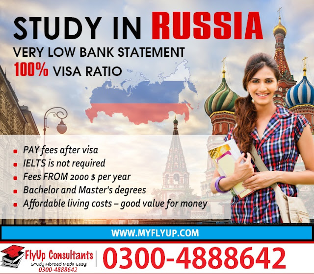 Study in Russia from Pakistan