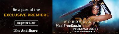 Wonder Woman Premiere Free Movie