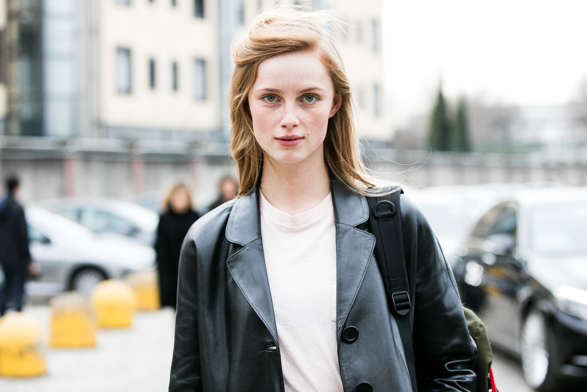 Street Style: Rianne Van Rompaey After Gucci