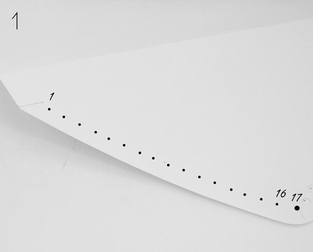 Briefumschlag Löcher