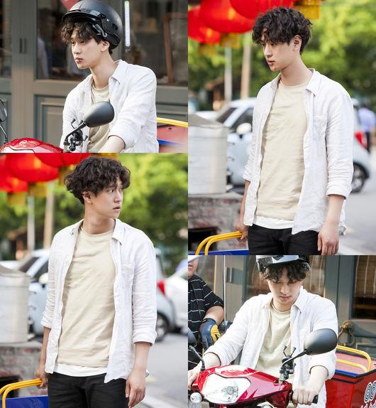 KBS新戲《最強送貨員》高庚杓卷髮造型亮相