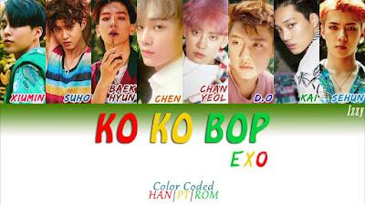 Lirik & Terjemahan Lagu EXO Ko Ko Bop