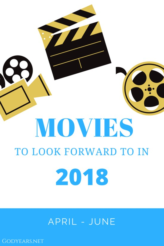 Movies to Look Forward to in 2018 - April to June #SuperBloggerChallenge2018