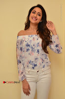 Actress Pragya Jaiswal Latest Pos in White Denim Jeans at Nakshatram Movie Teaser Launch  0016.JPG