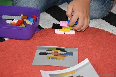 DIY Spiel aus Lego