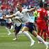 Half-time score England 5 – 0 Panama #WorldCup