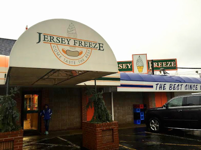 Jersey Freeze diner and ice cream shop in New Jersey