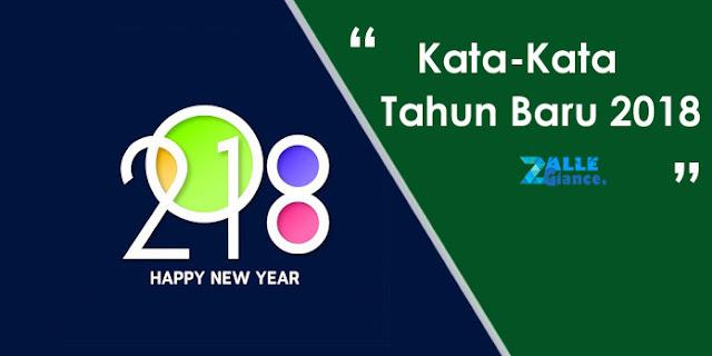 Kata Kata Ucapan Selamat Tahun Baru 2018 Terlengkap