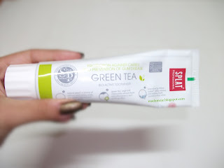 Splat Yeşil Çaylı / Green Tea Diş Macunu