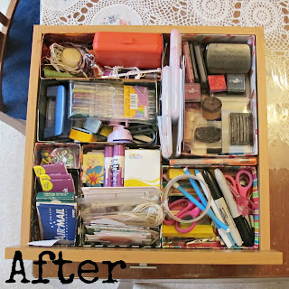 drawer reorganisation after homemade drawer compartments modules cereal box tea tissue