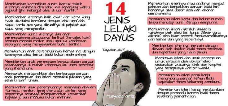 14 Jenis Lelaki Dayus