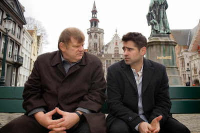 In Bruges 2008 action comedy Colin Farrell Brendan Gleeson