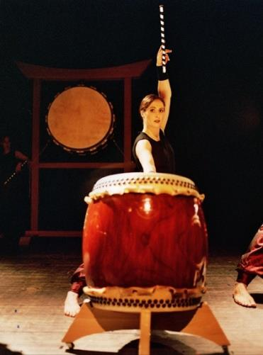 Feniks Taiko in action