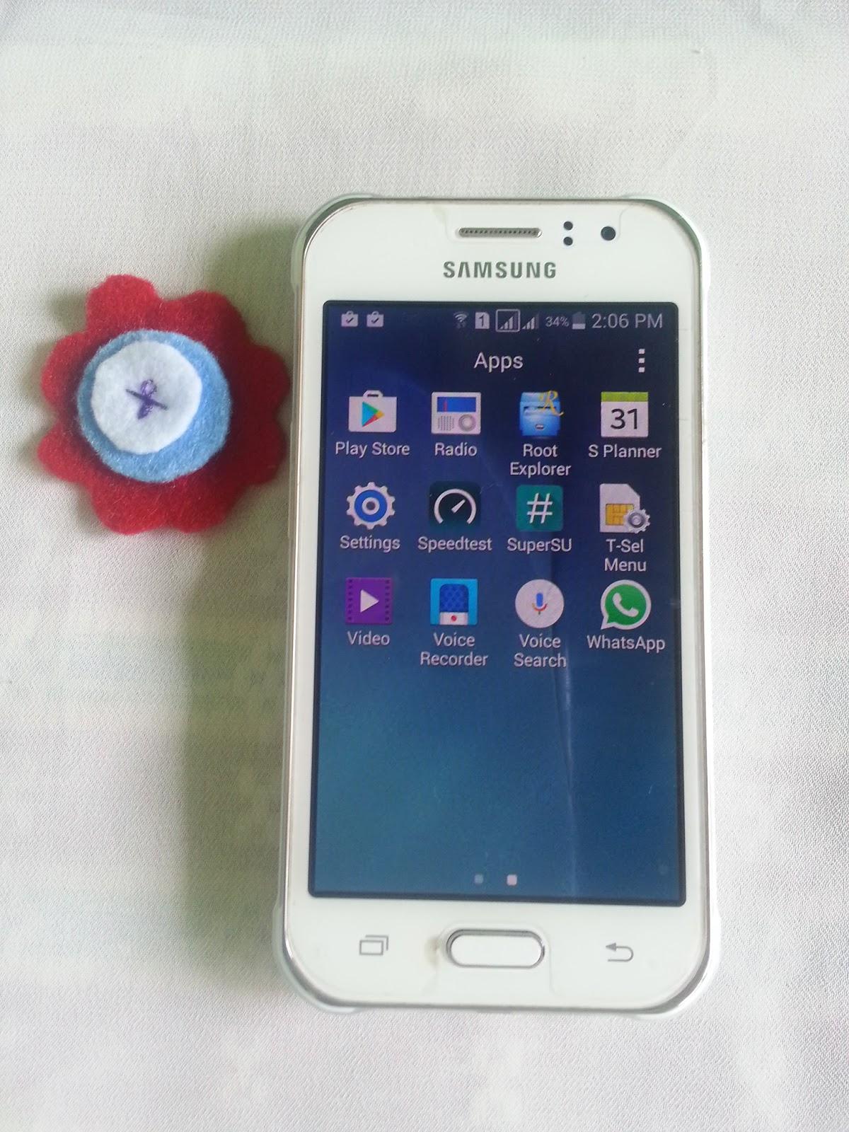 Rooting Samsung Galaxy J1 Ace (J110G)