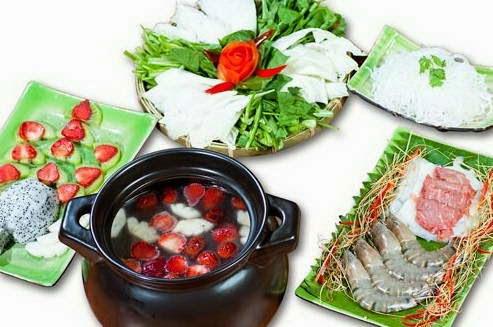 Cách nấu Lẩu hoa quả - Lẩu trái cây ngon