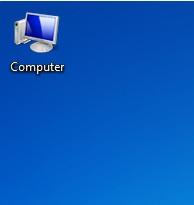 tampil di desktop menyerupai pada windows XP Cara Menampilkan My Computer di Desktop