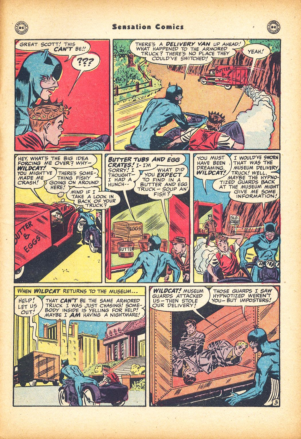 Read online Sensation (Mystery) Comics comic -  Issue #78 - 45