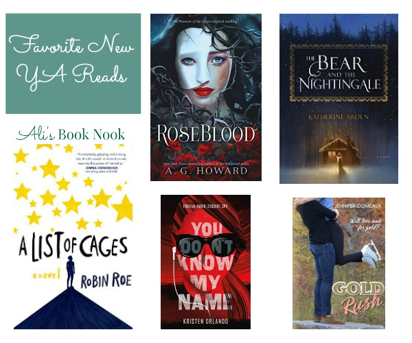 Favorite New Teen Books out this week
