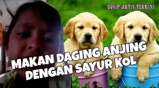 Viral Lirik Lagu Makan Daging Anjing Dengan Sayur Kol