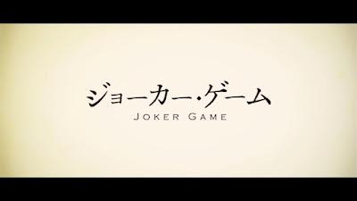 Joker Game Subtitle Indonesia [Batch]