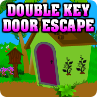 AvmGames Double Key Door Escape Walkthrough