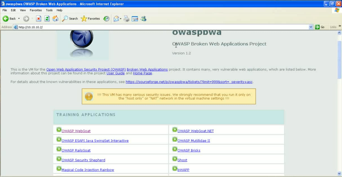 How to install and use Open Web Application Security Project