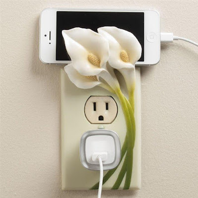 Calla Lily Outlet Cover