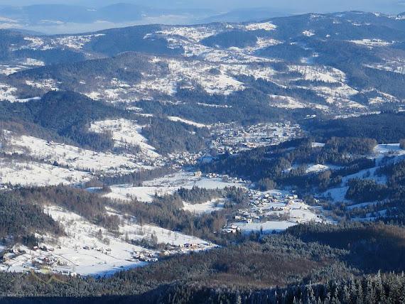 Wieś Zawoja.