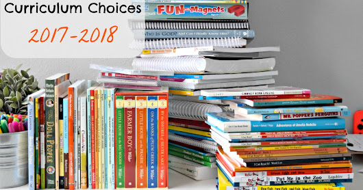 Curriculum Choices for 2017-2018 1st and 4th grades