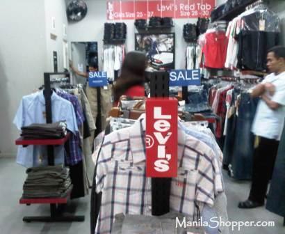 Manila Shopper  Levi s Outlet Store at Parkmall Cebu cca8fdc8e