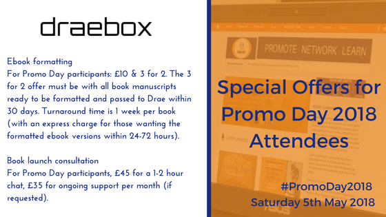 Special Offer for #PromoDay2018 Attendees