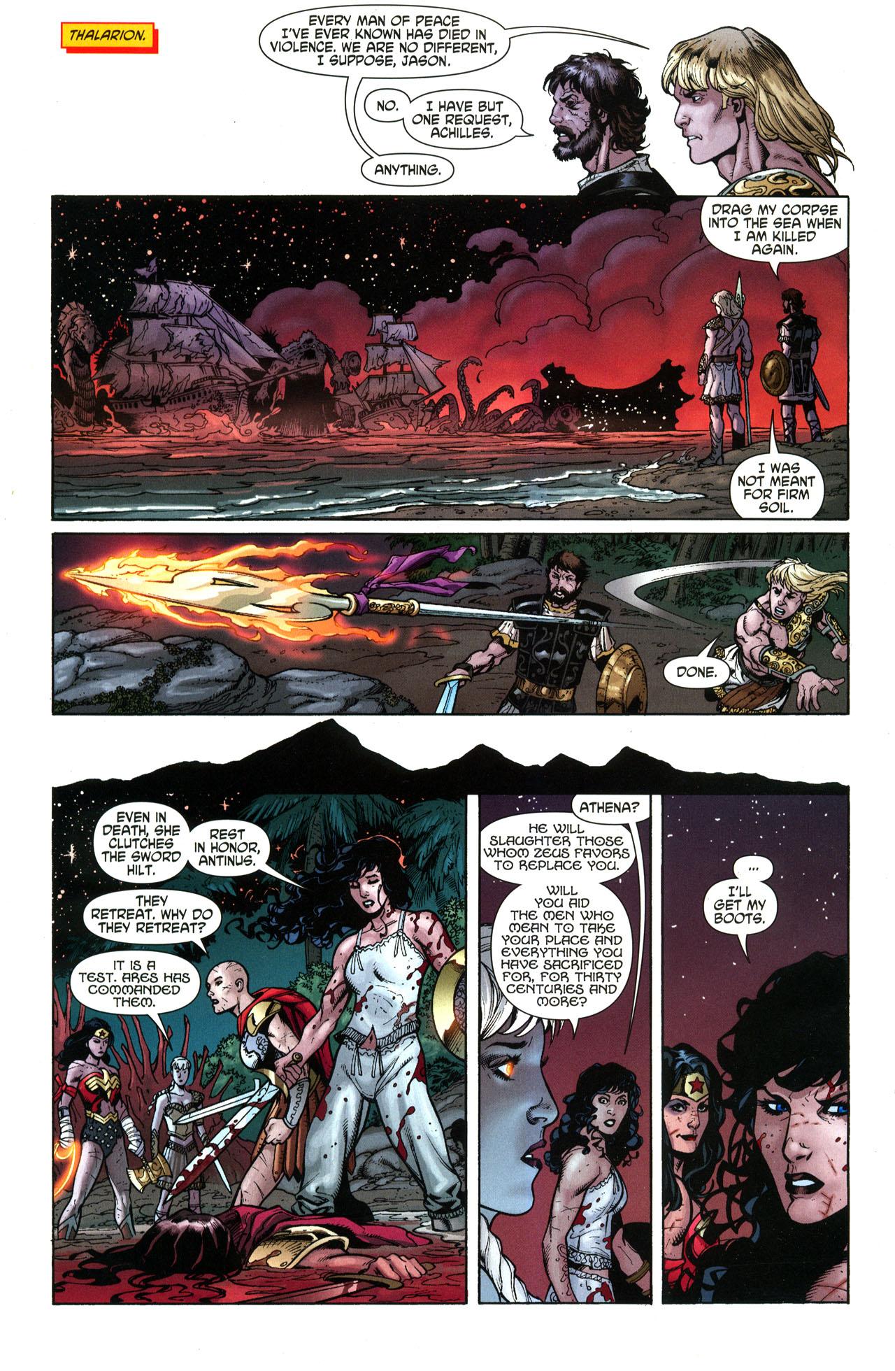 Read online Wonder Woman (2006) comic -  Issue #33 - 16