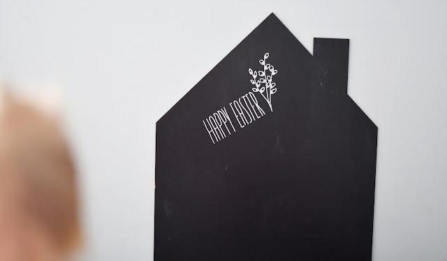 czarno białe dekoracje wielkanocne